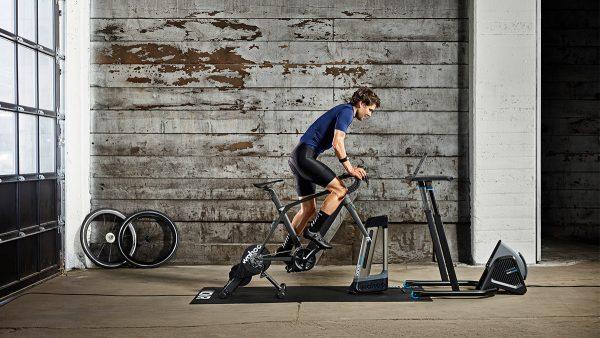 Wahoo Bike Equipment im Einsatz