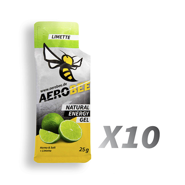 Aerobee Ausdauer Gel Limette