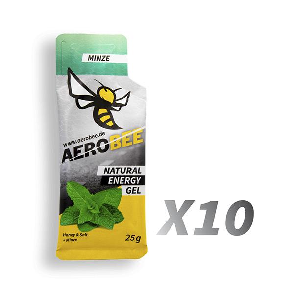 Aerobee Ausdauer Gel Minze