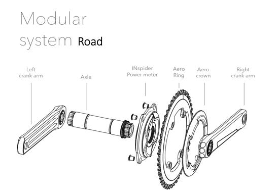 ROTOR INspider Modular System Road
