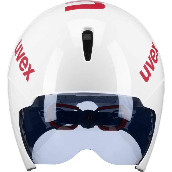 UVEX Race 8 Aerohelm Frontal mit Visier