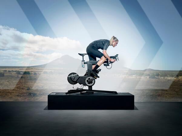 Wahoo KICKR Bike Lifestylebild