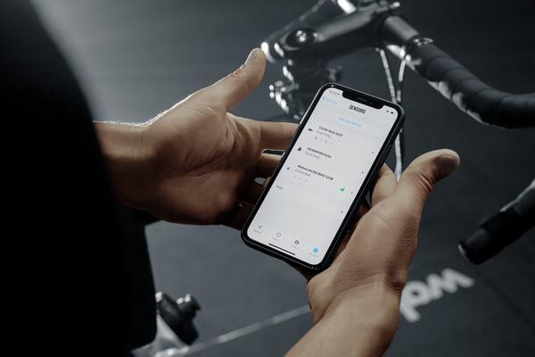 Wahoo KICKR mit Smartphone verbinden