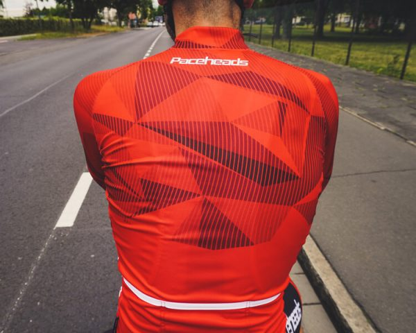 Paceheads Radtrikot Muster